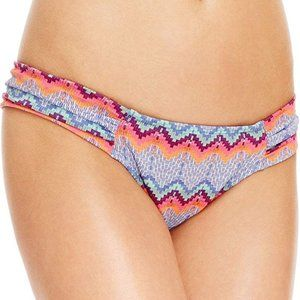 NWT Roxy Smooth Ikat Base Girl Bikini Bottom